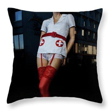 The Nurse Throw Pillow