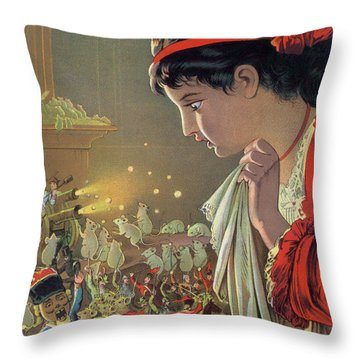 The Nutcracker Throw Pillow by Carl Offterdinger