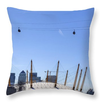 The O2 Arena - London Throw Pillow
