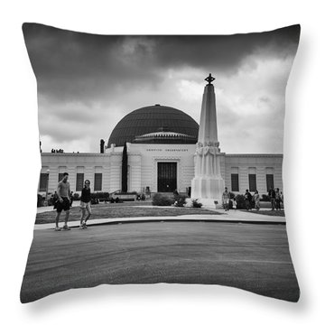 The Observatory Throw Pillow