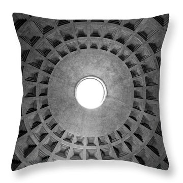 The Oculus Throw Pillow by Fabrizio Troiani