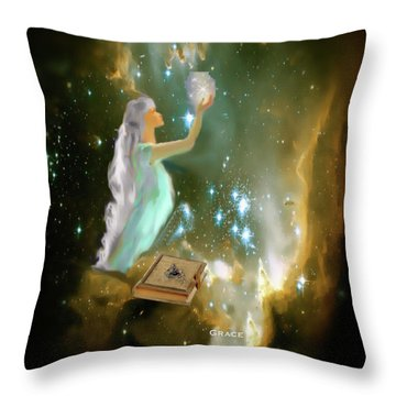 The Offering 1 Throw Pillow