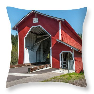 The Office Bridge Throw Pillow