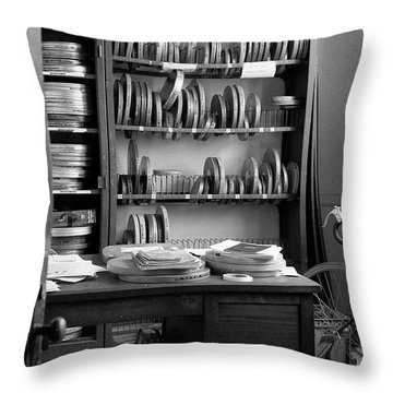 The Office Of A Teaching Assistant, 1979 Throw Pillow