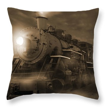 The Old 210 Throw Pillow by Mike McGlothlen
