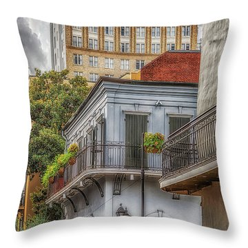 The Old Absinthe House Throw Pillow
