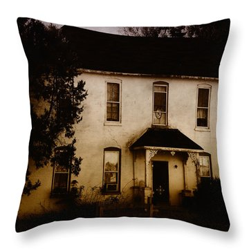 The Old And The Beautiful Throw Pillow by Kristie  Bonnewell