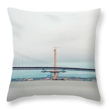 The Old And The New Throw Pillow by Ray Devlin