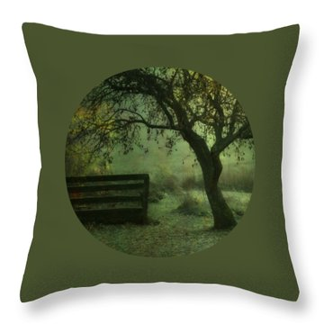 The Old Apple Tree Throw Pillow