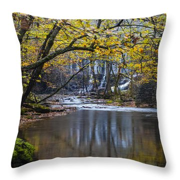 The Old Blanchard Mill Throw Pillow