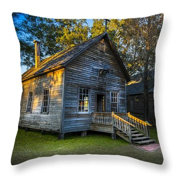 The Old Church Throw Pillow by Marvin Spates