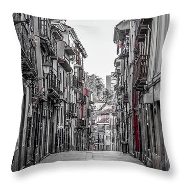 The Old City Throw Pillow