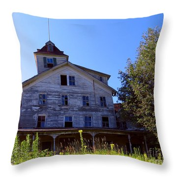 The Old Cold Spring Hotel Throw Pillow