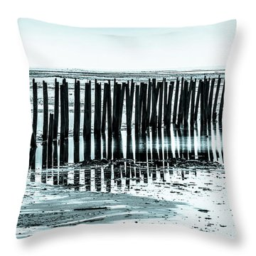 The Old Docks Throw Pillow