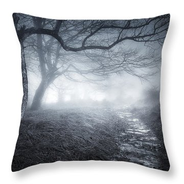 The Old Forest Throw Pillow