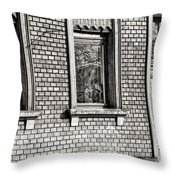 The Old Man In The Window Throw Pillow