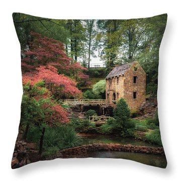 The Old Mill 5x6 Throw Pillow by James Barber