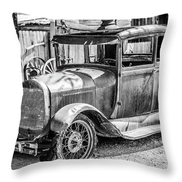 The Old Model Throw Pillow