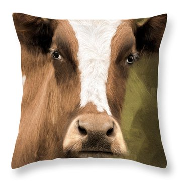 OX Throw Pillow