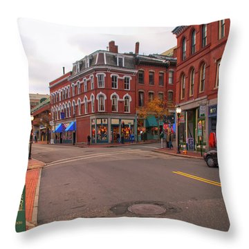 The Old Port 14477 Throw Pillow