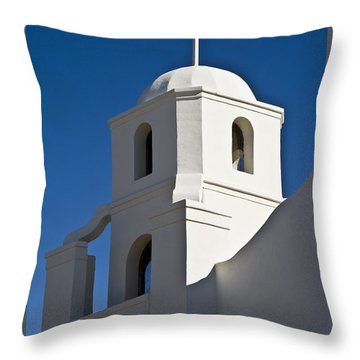 The Old Scottsdale Mission Throw Pillow