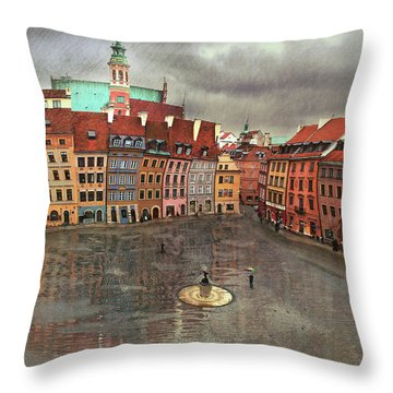 The Old Town # 24 Throw Pillow
