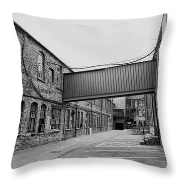 The Old Workhouse Throw Pillow