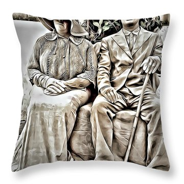 The Olders  Throw Pillow