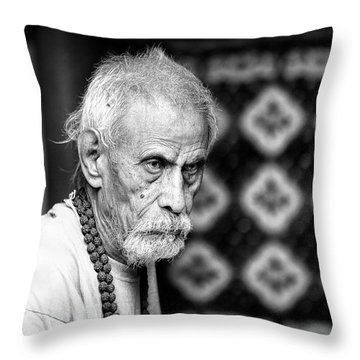 The Oldtimer Throw Pillow