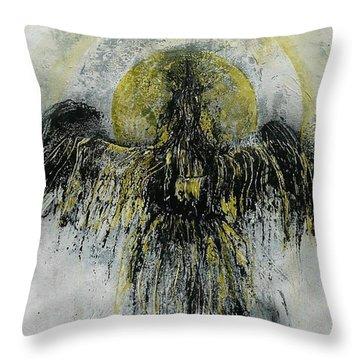 The Omen Throw Pillow