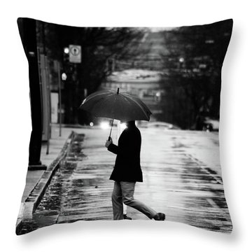 The One Chance I Found  Throw Pillow by Empty Wall
