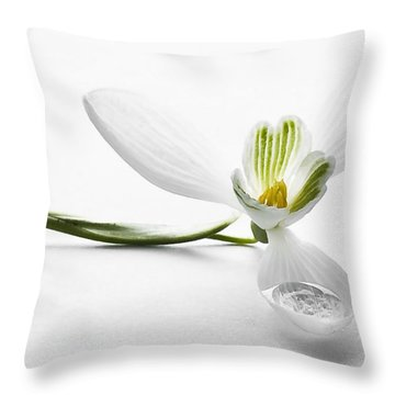 The One Throw Pillow by Svetlana Sewell