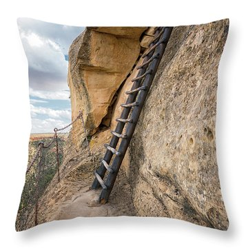The Only Way Out Throw Pillow