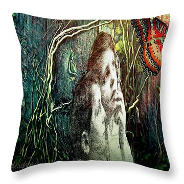 The Only Word... Throw Pillow