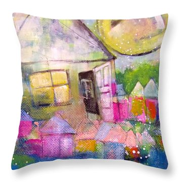 The Open Door Throw Pillow