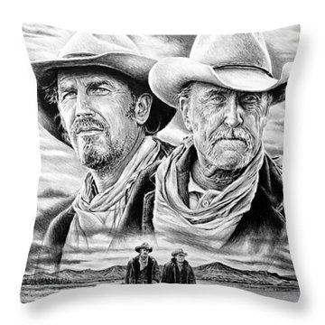 The Open Range Throw Pillow