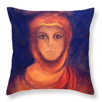 The Oracle Throw Pillow by Marina Petro