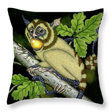 The Orbler Throw Pillow