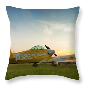 Throw Pillow featuring the photograph The Original by Steven Richardson