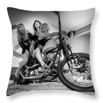 The Original Troublemakers- Throw Pillow