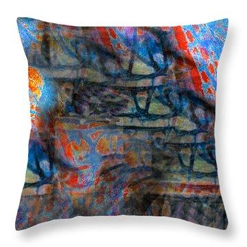 The Origins Of The Nabu  Throw Pillow