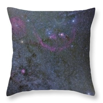 The Orion Complex Throw Pillow
