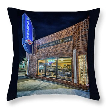 The Orphan Motor Company Throw Pillow