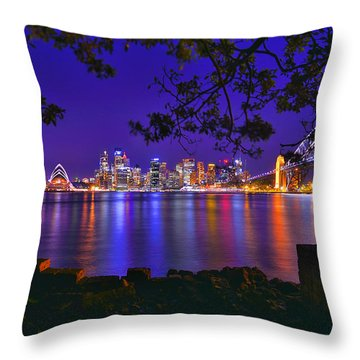 The Other Shore Throw Pillow