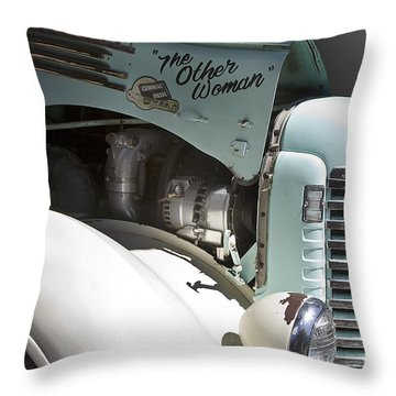 The Other Woman Throw Pillow