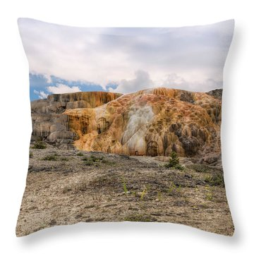 Throw Pillow featuring the photograph The Other Yellowstone by John M Bailey