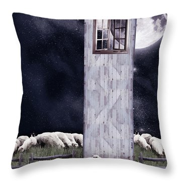 The Outsider Throw Pillow by Mihaela Pater
