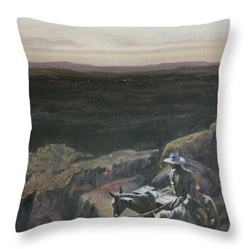 The Overlook Throw Pillow by Mia DeLode