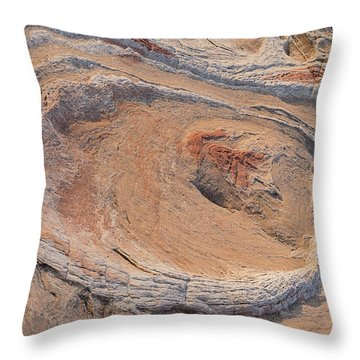 The Oyster At Sunset Horizontal Throw Pillow