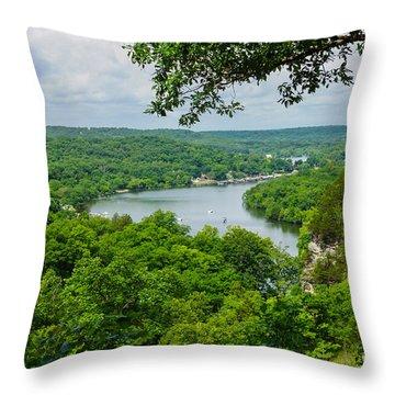 The Ozarks Throw Pillow